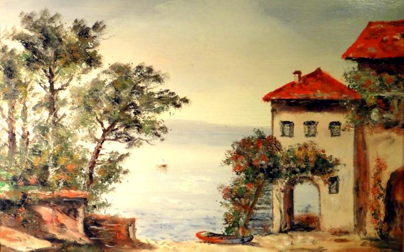 Itáliai tenger, 40×30