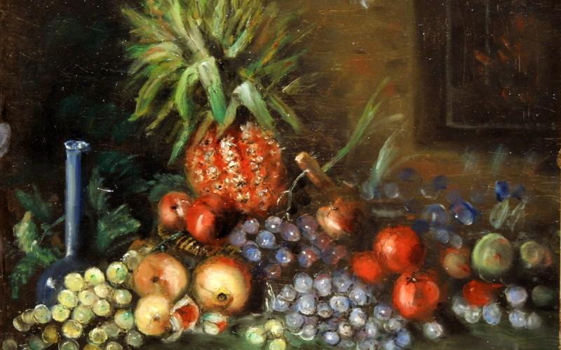 Ananászos csendélet, 40×30, 49.000.-