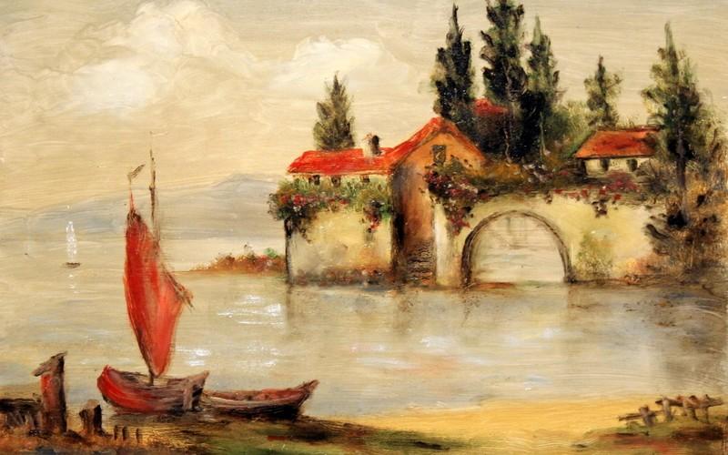 Garda tó, 40×30 55.000.-