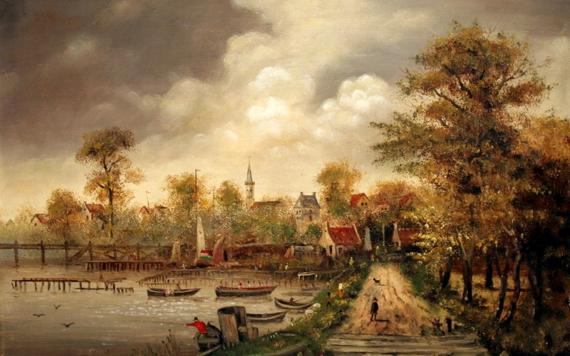 Amsterdam, 70×50